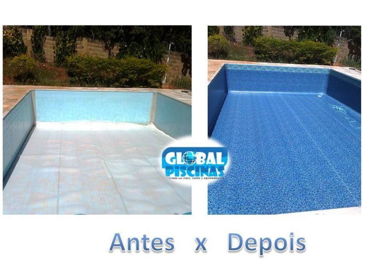 Revestimento de piscina de azulejo em vinil global piscinas - Azulejos para piscina ...
